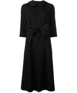 Comme Des Garçons Comme Des Garçons   Front Bow Midi Dress