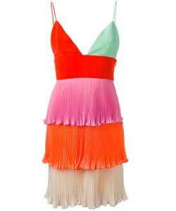Fausto Puglisi   Tiered Mini Pleat Dress
