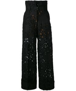 Petar Petrov   Lace-Embroidered Trousers Size 36