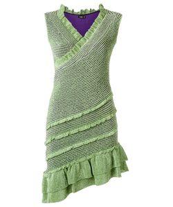 Gig | V Neck Knit Dress
