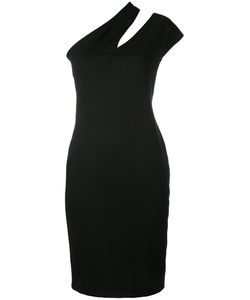 Mugler | Slash Detail Fitted Dress