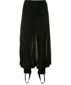 Christian Dada | Sheer Cropped Trousers 36