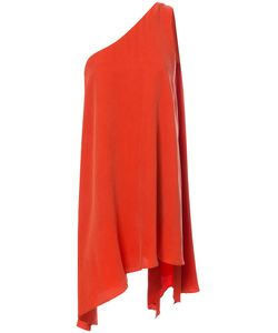 C/Meo | One Shoulder Handkerchief Hem Dress