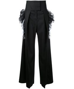Preen by Thornton Bregazzi | Wide-Legged High-Rise Trousers Women