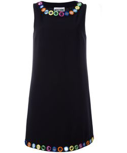 Moschino | Mirror Embroidered Shift Dress