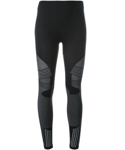 Barbara I Gongini | Striped Pattern Leggings 2 Polyamide/Polyester/Spandex/Elastane