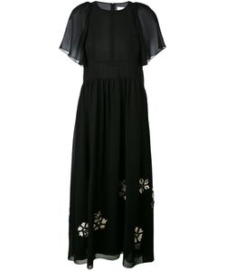 Chloé | Flower Appliqué Dress 34