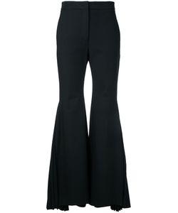 Sara Battaglia | Pleated Flared Trousers Size 44