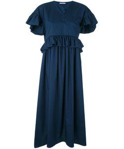 Vivetta   Ruffled Maxi Dress 40