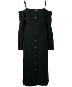 Le Ciel Bleu | Off-Shoulder Shirt Dress Women