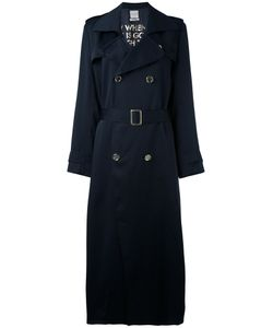 Each X Other | Long Poetry Printed Trench Coat