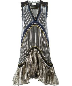 Peter Pilotto | Striped Flared Dress Size Medium