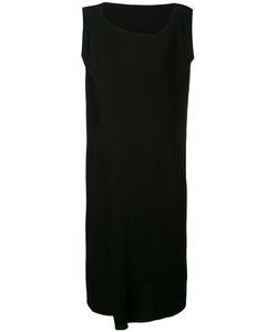 Issey Miyake | Asymmetric Neck Midi Plissé Dress Women