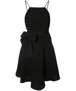 C/Meo | Bow Detail Flared Dress Medium