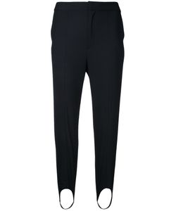 Le Ciel Bleu | Strap Detail Slim Trousers Size 32
