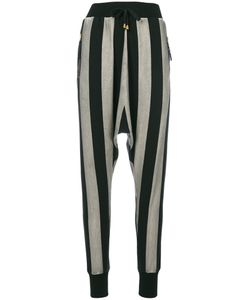 Unconditional | Striped Cropped Trousers Women