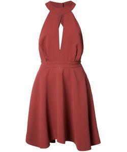 C/Meo | Flared Halter-Neck Dress Large
