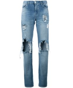 7 For All Mankind | Denim Distressed Jeans Size 27