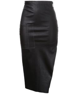 Manning Cartell | Digital Dash Leather Skirt Sheep