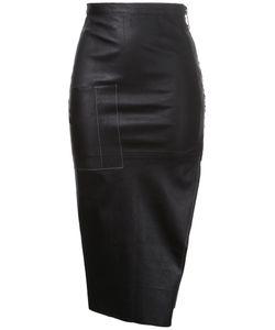 Manning Cartell | Digital Dash Leather Skirt Women Sheep
