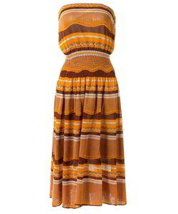 Gig | Strapless Midi Dress P