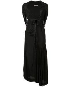 Preen by Thornton Bregazzi | Long Fringe Sleeve Dress Size