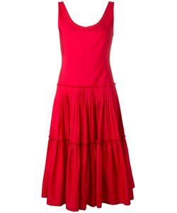 Alberta Ferretti | Sleeveless Mid-Length Dress