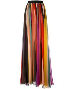 Elie Saab | Striped Maxi Skirt