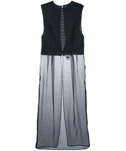 Facetasm | Pleats Check Dress