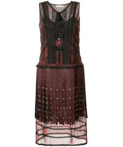 Coach | Layered Fringe Dress Women