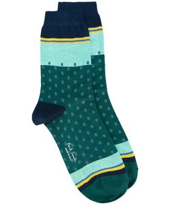 Paul Smith | Dots Socks Cotton/Polyamide/Spandex/Elastane