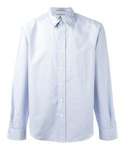 Andrea Pompilio | Striped Button Down Shirt 46 Cotton