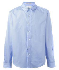 Andrea Pompilio | Contrast Collar Shirt 46 Cotton