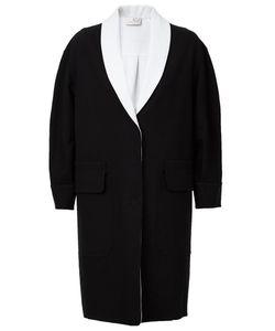 Maison Ullens | Single Breasted Bicolour Coat