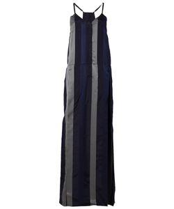 Ilaria Nistri   Striped Long Slip Dress 40