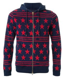 Education From Youngmachines | Star Pattern Zip Up Hoodie