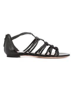 Alexander McQueen   Strappy Sandals 40