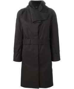 Norwegian Rain | Oversize Collar Belted Coat