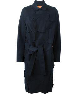 Coperni Femme   Circle Patchwork Belted Coat 38