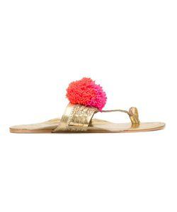 Figue   Leo Pom Pom Sandals 5