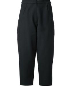 Studio Nicholson | Loose-Fit Cropped Trousers 2 Viscose/Virgin Wool