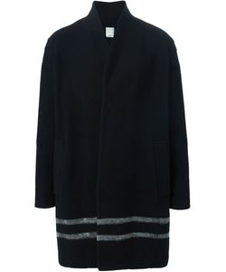Cy Choi | Contrasting Striped Coat