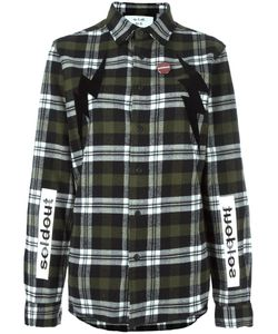 Sold Out Frvr | Multiple Prints Plaid Shirt Medium