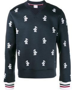 Moncler Gamme Bleu | Duck Embroidered Sweatshirt Large Virgin