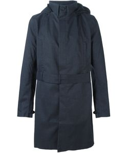 Norwegian Rain | Hooded Belted Coat
