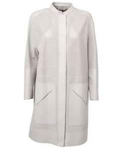 Maison Ullens | Perforated Midi Coat