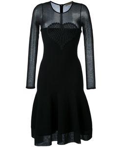 Piccione.Piccione | Piccione. Piccione Flared Dress 40 Viscose/Cotton/Polyester/Silk