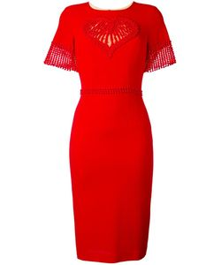 Piccione.Piccione | Piccione. Piccione Fitted Dress 38 Polyester/Wool/Polyethylene/Rayon
