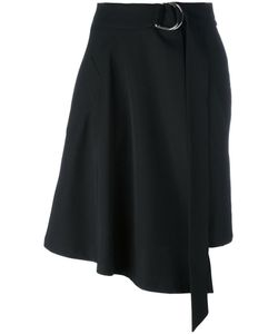 Veronique Leroy | Asymmetric Skirt 36 Wool/Polyamide/Spandex/Elastane/Silk