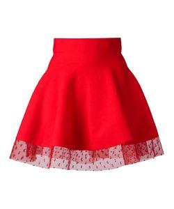 Piccione.Piccione | Piccione. Piccione Full Mini Skirt 42 Viscose/Polyester/Silk